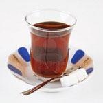 Стакан чая и ложка